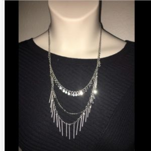 Express Necklace Silver in color Womens NWT $39